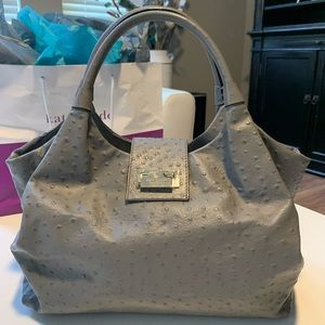 Kate Spade ostrich bag